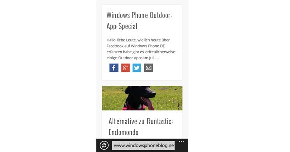 windows phone blog
