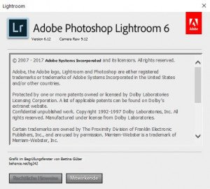 Lightroom Version 6.12
